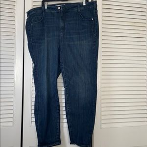 Pilcro and the letterpress skinny jeans 28W